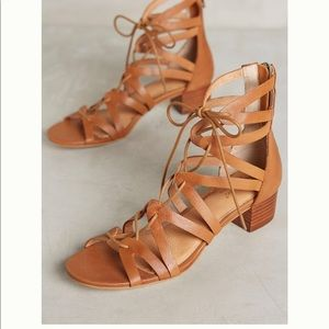 Anthropologie leather sandals